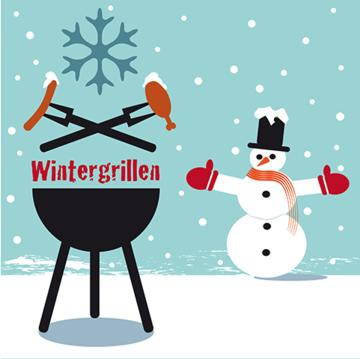 Grillen mit Flüssiggas im Winter:  Heiße Tipps für kalte Temperaturen
