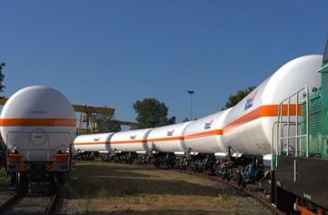 Neue Kesselwagen für Tyczka Unternehmensgruppe