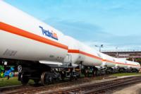 Flüssiggas Schienenkesselwagen