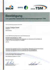 TSM Urkunde