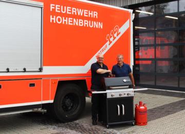 Feuerwehr Hohenbrunn, Flüssiggas