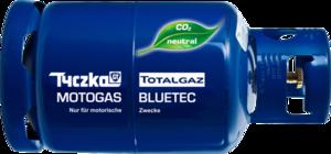 MOTOGAS BLUETEC - Co2 neutrales Treibgas
