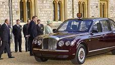 Die Bentley Dienstlimousine der Queen