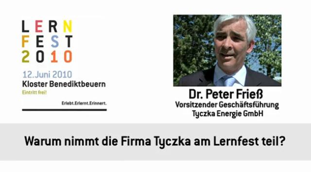 Peter Frieß, Geschäftsführer der Tyczka Energie GmbH